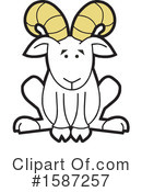 Ram Clipart #1587257 by Johnny Sajem