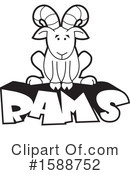 Royalty-Free (RF) Ram Clipart Illustration #1588752