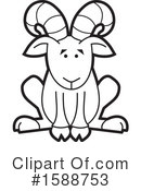 Royalty-Free (RF) Ram Clipart Illustration #1588753