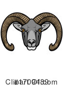 Ram Clipart #1709489 by Vector Tradition SM