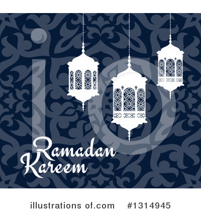 Ramadan Kareem Clipart #1314945 by Vector Tradition SM