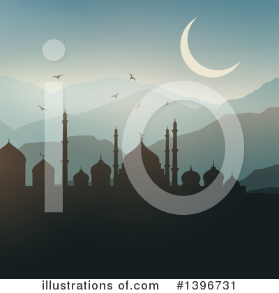 Mosque Clipart #1396731 by KJ Pargeter