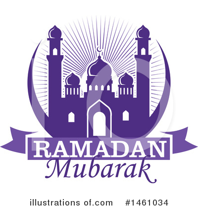 Ramadan Kareem Clipart #1461034 by Vector Tradition SM
