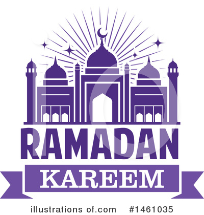 Ramadan Kareem Clipart #1461035 by Vector Tradition SM
