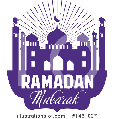 Ramadan Kareem Clipart #1461037 by Vector Tradition SM
