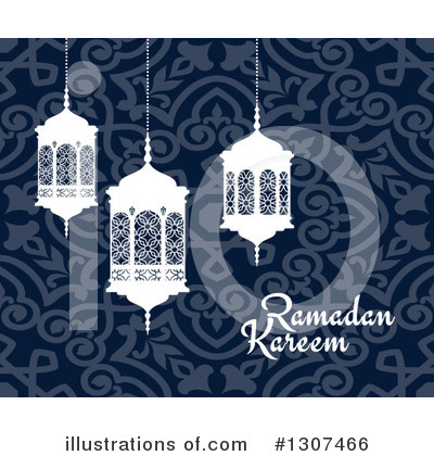 Royalty-Free (RF) Ramadan Kareem Clipart Illustration by Vector Tradition SM - Stock Sample #1307466
