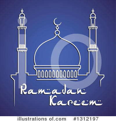 Ramadan Kareem Clipart #1312197 by Vector Tradition SM