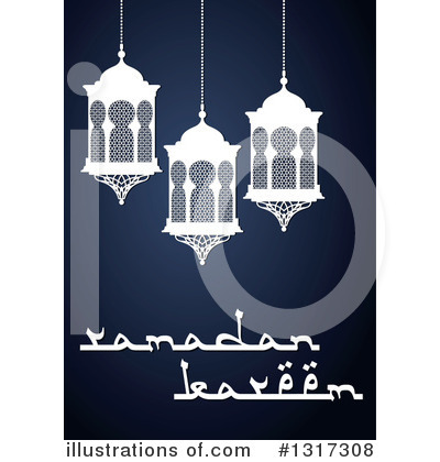 Ramadan Kareem Clipart #1317308 by Vector Tradition SM