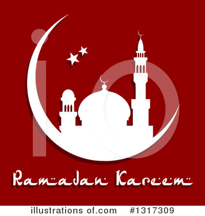 Ramadan Kareem Clipart #1317309 by Vector Tradition SM