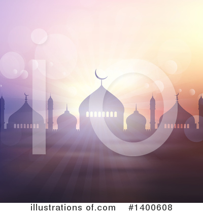 Royalty-Free (RF) Ramadan Kareem Clipart Illustration by KJ Pargeter - Stock Sample #1400608