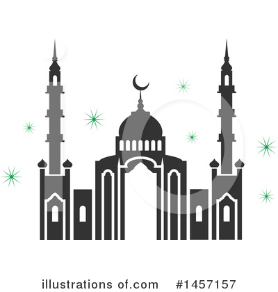 Ramadan Kareem Clipart #1457157 by Vector Tradition SM