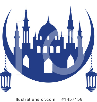 Ramadan Kareem Clipart #1457158 by Vector Tradition SM