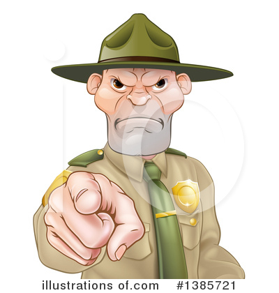 Police Man Clipart #1385721 by AtStockIllustration