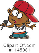 Royalty-Free (RF) Rapper Clipart Illustration #1145081