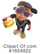 Rapper Clipart #1654922 by Steve Young
