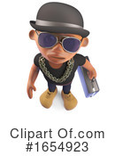 Rapper Clipart #1654923 by Steve Young