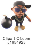 Rapper Clipart #1654925 by Steve Young