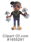 Rapper Clipart #1655291 by Steve Young
