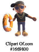 Rapper Clipart #1669800 by Steve Young