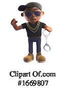 Rapper Clipart #1669807 by Steve Young