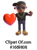 Rapper Clipart #1669808 by Steve Young