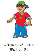 Royalty-Free (RF) rapper Clipart Illustration #213181