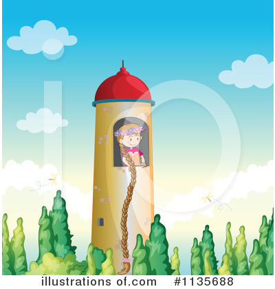 Rapunzel Clipart #1135688 by Graphics RF