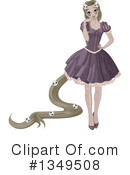 Rapunzel Clipart #1349508 by Pushkin