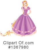 Royalty-Free (RF) Rapunzel Clipart Illustration #1367980