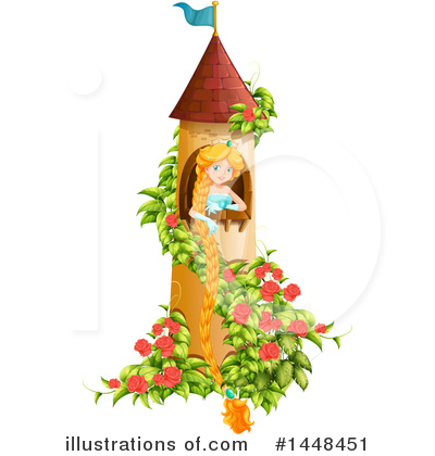 Rapunzel Clipart #1448451 by Graphics RF