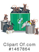 Rat Clipart #1467864 by Graphics RF