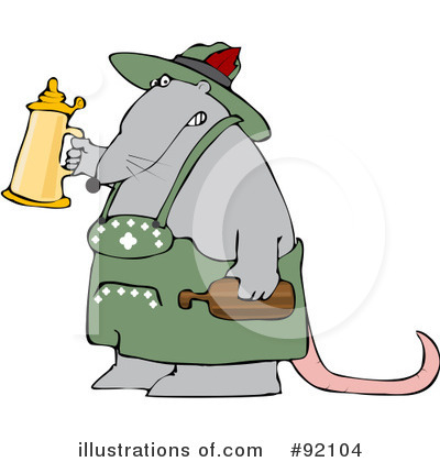 Rat Clipart #92104 by djart