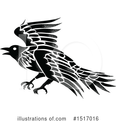 Crow Clipart #1517016 by patrimonio