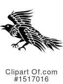 Royalty-Free (RF) Raven Clipart Illustration #1517016