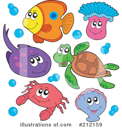 Ray Fish Clipart #212159 by visekart