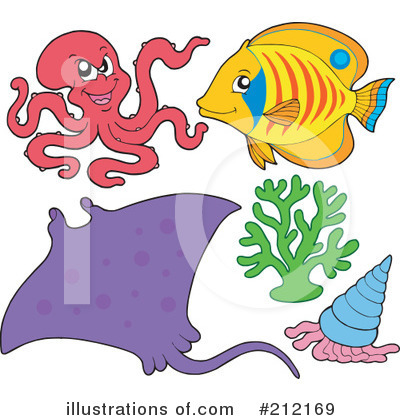 Ray Fish Clipart #212169 by visekart