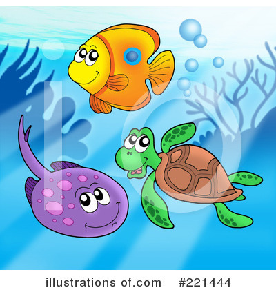Ray Fish Clipart #221444 by visekart
