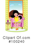 Reading Clipart #100240 by mayawizard101
