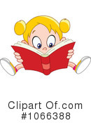 Reading Clipart #1066388 by yayayoyo