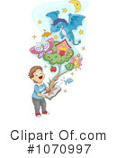 Reading Clipart #1070997 by BNP Design Studio