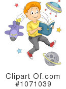 Reading Clipart #1071039 by BNP Design Studio