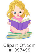 Reading Clipart #1097499 by Pushkin