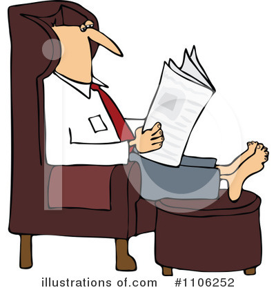 Newspaper Clipart #1106252 by djart