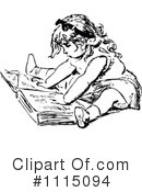 Royalty-Free (RF) Reading Clipart Illustration #1115094