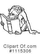 Reading Clipart #1115306 by Prawny Vintage