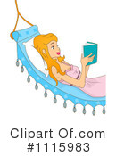 Royalty-Free (RF) Reading Clipart Illustration #1115983