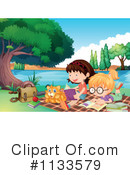 Reading Clipart #1133579 by Graphics RF
