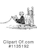 Reading Clipart #1135192 by Prawny Vintage