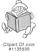 Reading Clipart #1135935 by Picsburg