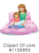 Royalty-Free (RF) Reading Clipart Illustration #1136850